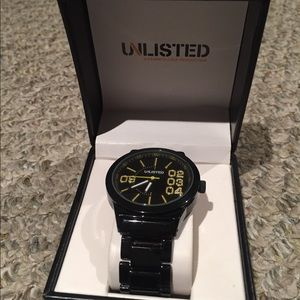 Kenneth Cole Unlisted Men's watch w/ original box